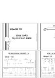 Chương 7-Tính toán mạng phân phối