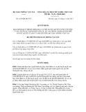 Quyết định số 2635/QĐ-BGTVT