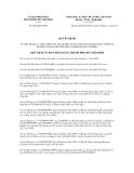 Quyết định số 5627/QĐ-UBND