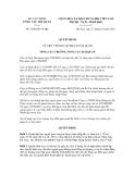 Quyết định số 2360/QĐ-TCHQ