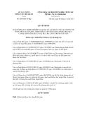 Quyết định số 2406/QĐ-TCHQ