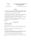 Thông tư số 41/2011/TT-BYT