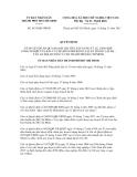 Quyết định số 5435/QĐ-UBND