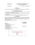 Quyết định số 950/QĐ-BXD