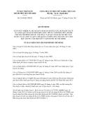 Quyết định số 5169/QĐ-UBND