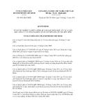 Quyết định số 5685/QĐ-UBND