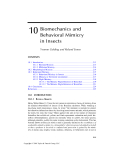 ECOLOGY and BIOMECHANICS - CHAPTER 10