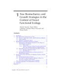 ECOLOGY and BIOMECHANICS - CHAPTER 1