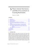 ECOLOGY and BIOMECHANICS - CHAPTER 5
