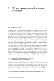 Expert Systems and Geographical Information Systems for Impact Assessment - Chapter 5