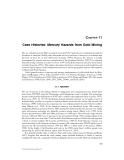 Mercury Hazards to Living Organisms - Chapter 11