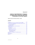 Regional Scale Ecological Risk Assessment - Chapter 6