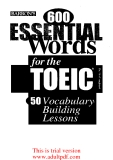 barron's 600 essential words for the toeic_part1