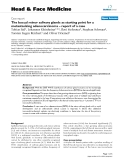 """báo cáo khoa học: """" The buccal minor salivary glands as starting point for a metastasizing adenocarcinoma – report of a case"""""""