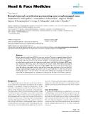 "báo cáo khoa học: "" Ectopic internal carotid artery presenting as an oropharyngeal mass"""