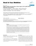 "báo cáo khoa học: "" Upper eyelid reconstruction: a short report of an eyelid defect following a thermal burn"""
