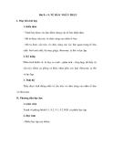 Bài 8 + 9: TẾ BÀO NHÂN THỰC