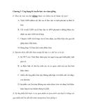 Chương 3: Ứng dụng di truyền học vào chọn giống