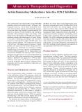 Thuốc chống viêm: chọn lọc các chất ức chế
