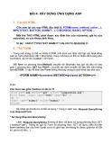 BÀI 4: XÂY DỰNG ỨNG DỤNG ASP.1. Các thẻ HTML.Cần xem lại các tag HTML đặc