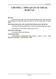 Visual BasicCHƯƠNG 1 TỔNG QUAN VỀ VISUAL BASIC 6.0Mục tiêu: Chương này giới