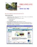 DREAWEAVE R8SITE CỤC BỘBÀI 6 NGÀY 4.8.2006 SOẠN THEO SÁCH KS TRẦN VIỆT AN I.MỘT