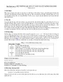 Bài Tập Lớn 2: HỆ THỐNG QUẢN LÝ SẢN XUẤT KINH DOANHPhiên bản 2.01. Giới
