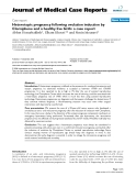"""Báo cáo y học: """" Heterotopic pregnancy following ovulation induction by Clomiphene and a healthy live birth: a case report"""""""