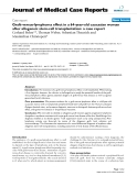 "Báo cáo y học: "" Graft-versus-lymphoma effect in a 64-year-old caucasian woman after allogeneic stem-cell transplantation: a case report"""