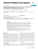 """Báo cáo y học: """"Bordetella bronchiseptica pneumonia in a man with acquired immunodeficiency syndrome: a case report"""""""