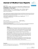 """Báo cáo y học: """"Ulceration of the oral mucosa induced by antidepressant medication: a case report"""""""