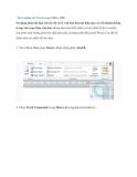 Tự in phím tắt Word trong Office 2007
