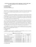 Ảnh hưởng của chất phụ gia khoáng tro bay nhiệt điện và Puzolan thiên nhiên