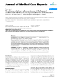 """Báo cáo y học: """" Coexistence of primary adenocarcinoma of the lung and Tsukamurella infection: a case report and review of the literature"""""""