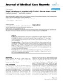 "Báo cáo y học: ""Sweet's syndrome in a patient with Crohn's disease: a case report"""