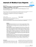 """Báo cáo y học: """"Diabetic fetopathy associated with bilateral adrenal hyperplasia and ambiguous genitalia: a case report"""""""