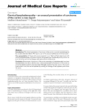 """Báo cáo y học: """"Cervical lymphadenopathy – an unusual presentation of carcinoma of the cervix: a case report"""""""
