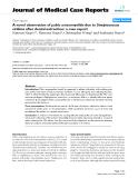 "Báo cáo y học: ""A novel observation of pubic osteomyelitis due to Streptococcus viridans after dental extraction: a case report"""