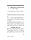 Principles of Air Quality Management - Chapter 5