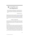Principles of Air Quality Management - Chapter 9
