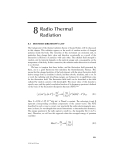Radio Propagation and Remote Sensing of the Environment - Chapter 8