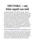 TRYTOKC – sức khỏe người cao tuổi