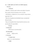 Bài 23. CHỌN GIỐNG VẬT NUÔI VÀ CÂY TRỒNG (tiếp theo)