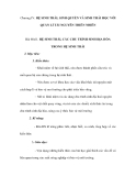 Chương IV. HỆ SINH THÁI, SINH QUYỂN VÀ SINH THÁI HỌC VỚI QUẢN LÍ TÀI NGUYÊN THIÊN NHIÊN