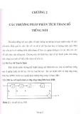 Chương 2 - Các phương pháp phân tích tham số tiếng nói