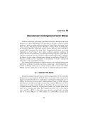 BIOGEOCHEMICAL, HEALTH, AND ECOTOXICOLOGICAL PERSPECTIVES ON GOLD AND GOLD MINING - CHAPTER 14