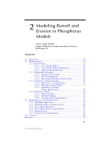 Modeling phosphorus in the environment - Chapter 2