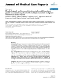 """Báo cáo y học: """" Morphologically and immunohistochemically undifferentiated gastric neoplasia in a patient with multiple metastatic malignant melanomas: a case report"""""""