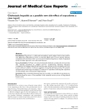 """Báo cáo y học: """" Cholestatic hepatitis as a possible new side-effect of oxycodone: a case report"""""""
