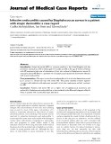 """Báo cáo y học: """" Infective endocarditis caused by Staphylococcus aureus in a patient with atopic dermatitis: a case report"""""""